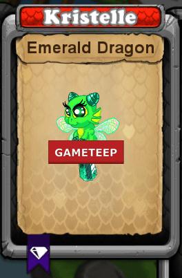 DragonVale Emerald Dragon Gameteep