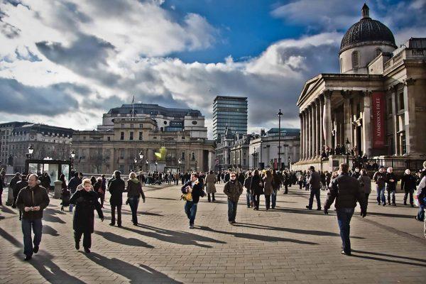 The Getaway - Trafalgar Square (Gary Knight)