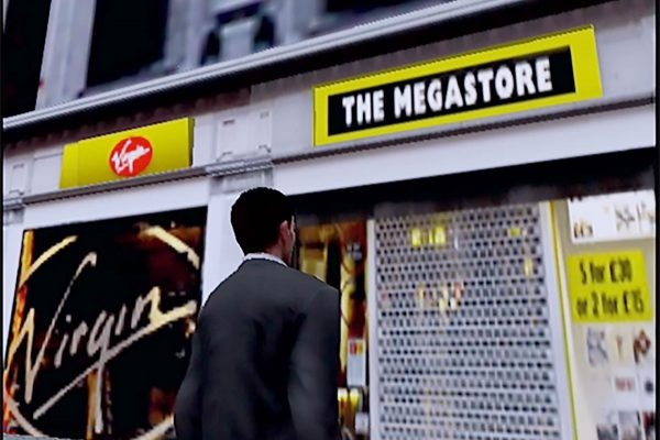 The Getaway - Virgin Megastore