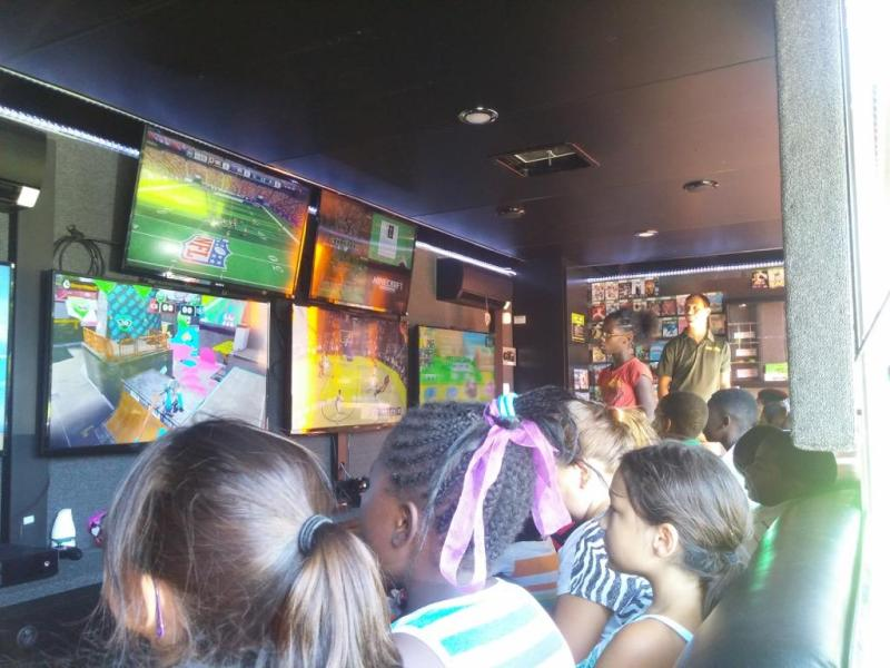 GameTruck Houston   Video Games  LaserTag  and WaterTag Party Trucks Host a Group Event