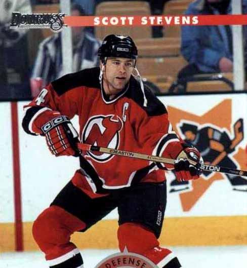 Scott Stevens New Jersey Devils Black Easton Game Used ...