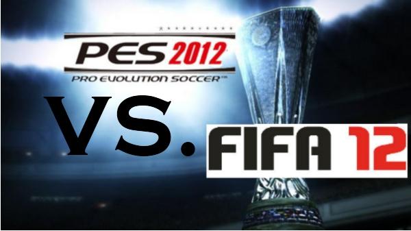 PES12 VS. FIFA12