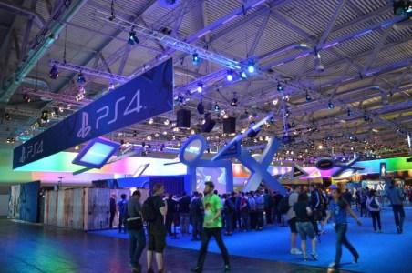 Sony wird auch in diesem Jahr wieder mit einem riesigen Stand vertreten sein