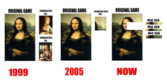 (Merklich) Zerstückelte Spiele sind ja leider Standard geworden