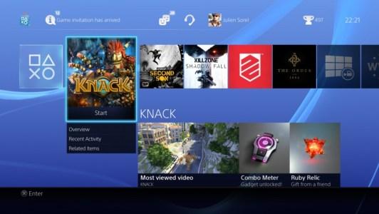 Das Menü der PS4 ist nicht neu, hier hat Sony aber ganze Arbeit geleistet und alles richtig gemacht.