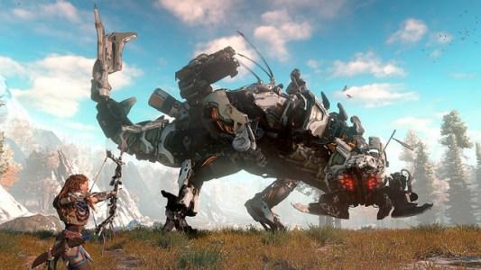 Paradoxe Welt: In Horizon sind Roboterlebewesen schon Überreste einer vergessenen Zeit.