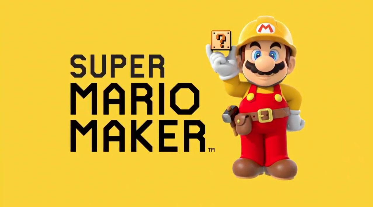 Super Mario Maker - Logo