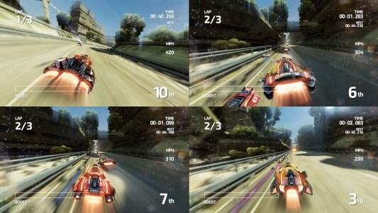 Online- UND lokaler Multiplayer: dass man das noch erleben darf.