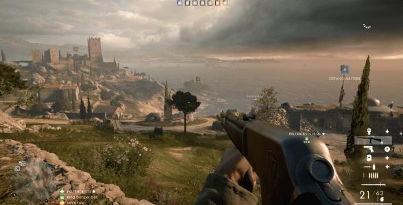 Auch Battlefield 1 bietet das typische Spielgefühl, welches die Serie auszeichnet