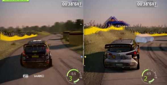 Endlich gibt es wieder Rennen am geteilten Bildschirm