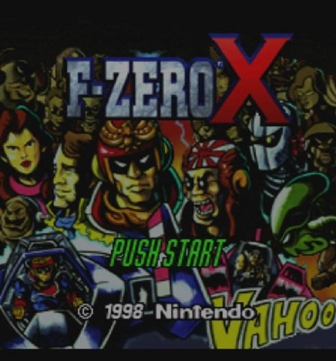 F-Zero X Titelbild