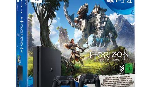 PlayStation 4-Bundle mit Horizon Zero Dawn