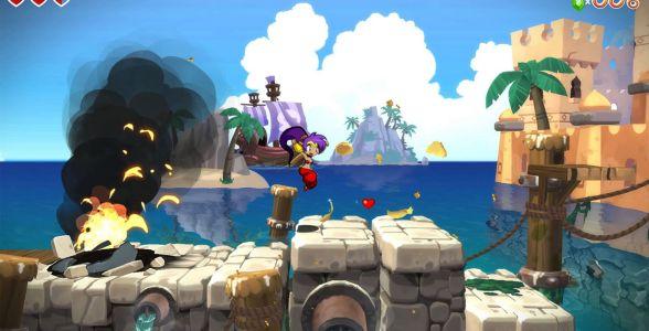 Shantae - Sprungpassage