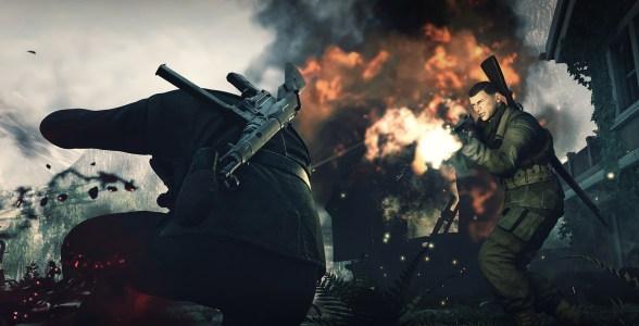 Sniper Elite 4 sieht stellenweise bombastisch aus.