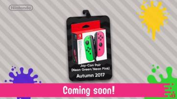 Splatoon 2 Joy Con