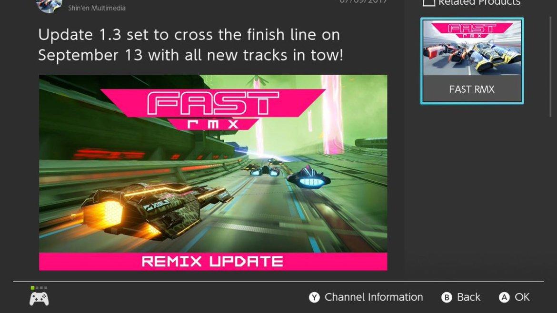 Fast RMX Update 1.3