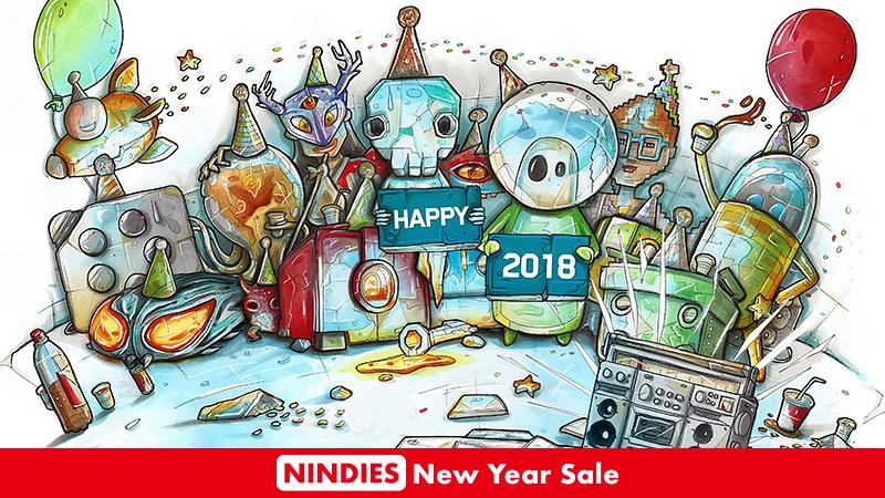 Nindies Neujahrsangebote 2018