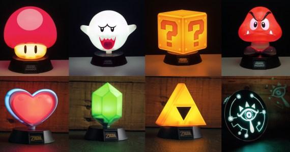 Nintendo-Lampen