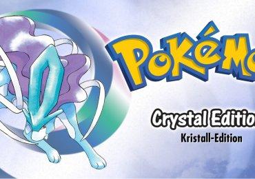 Pokémon Kristall Titelbild