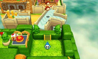 Auch auf dem 3DS lässt sich mit Toad gut Knobeln.