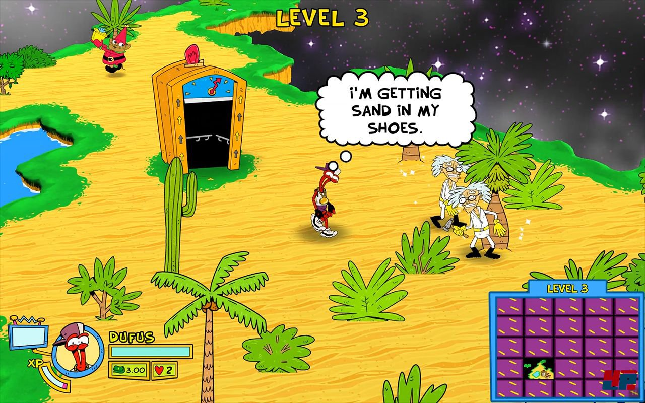 ToeJam & Earl: Back to the Roots!