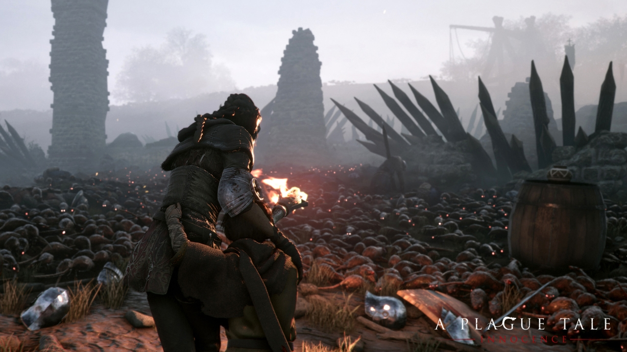 Die Ratten in A Plague Tale: Innocence