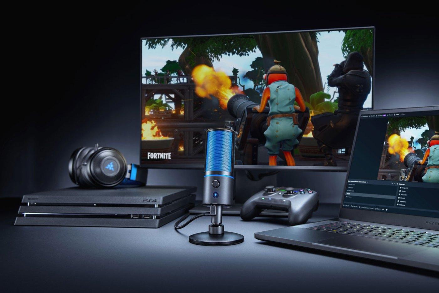 Mit dem Razer Seiren X hebt ihr eure Streaming-Ambitionen aufs nächste Level.