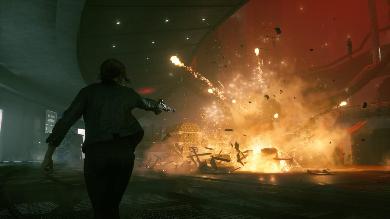 In den Kämpfen entfesselt Control ein einzigartiges Effektfeuerwerk