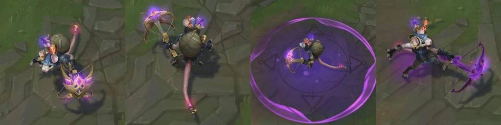 New upcoming League skin for 10.6: Twitch Shadowfoot.