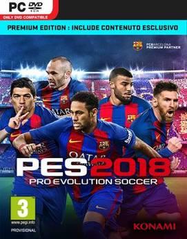 Pro Evolution Soccer 2018 (7DVD) - PC-0