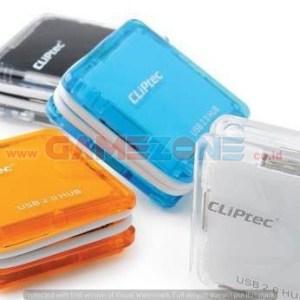 USB Hub Cliptech RZH-204 Cable Wrap-0