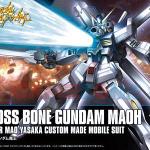 Gundam Crossbone Maoh (HG) - Terakit - Bandai -0