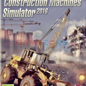 Construction Machines Simulator 2016 (DVD) - PC-0