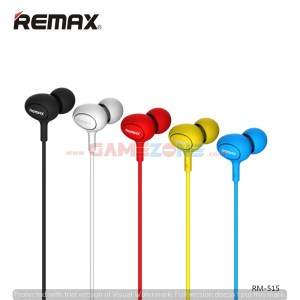 Earphone Remax RM 515-0