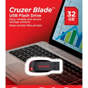 Flashdisk Sandisk 32GB Cruzer Blade-0