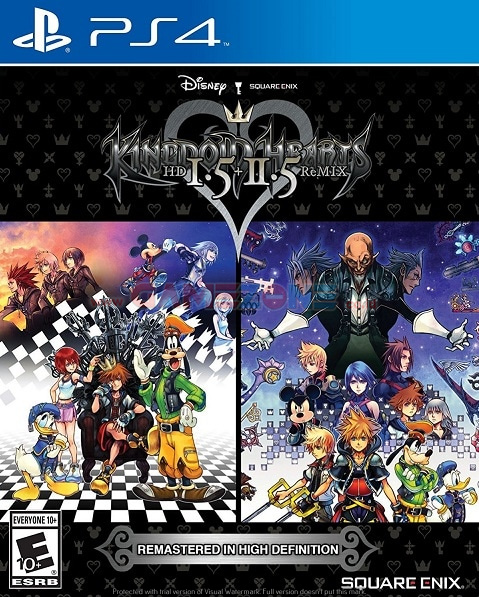 Kingdom Hearts HD 1.5+2.5 Remix - Reg1 - PS4-0