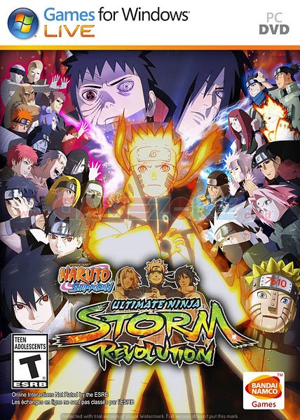 Naruto Shippuden: Ultimate Ninja Storm Revolution (3DVD) - PC-0