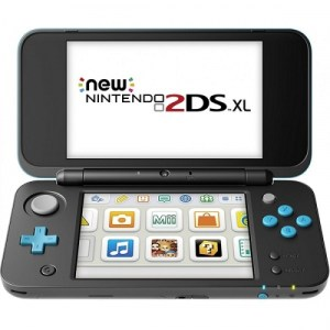 Nintendo New 2DS XL Console (Black / Turquoise) - NINTENDO-0
