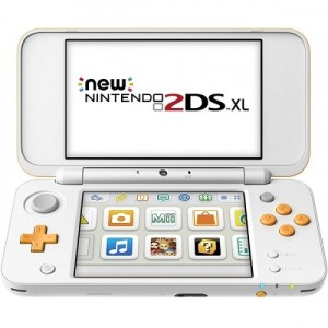Nintendo New 2DS XL Console (White / Orange) - NINTENDO-0