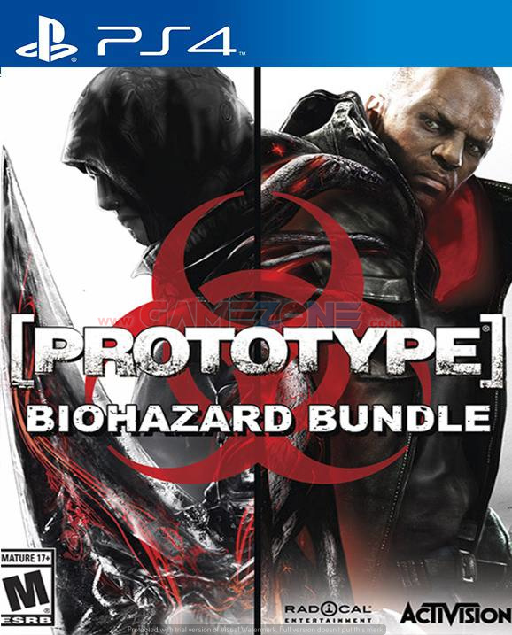 Prototype Biohazard Bundle - Prototype 1 & 2 - Reg1 - PS4-0