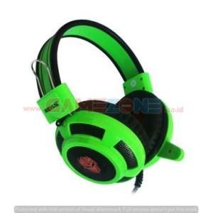 Headset Gaming F-15 (Mic+LED) Rexus -0