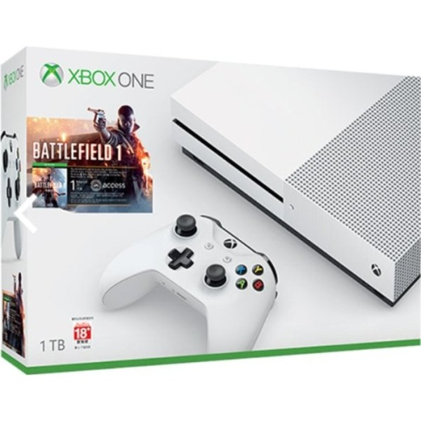 Mesin XBOX ONE S 1TB Bundle Battlefield 1 - XBOX ONE-0