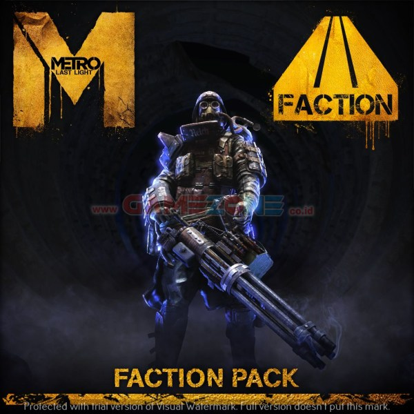 Metro: Last Light - Faction Pack (DVD) - PC-0