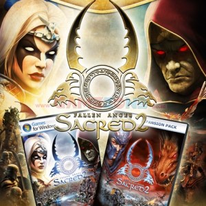 Sacred 2: Gold Editions (4DVD) - PC-0