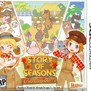 Story of Seasons: Trio of Towns - Reg1 - 3DS-0