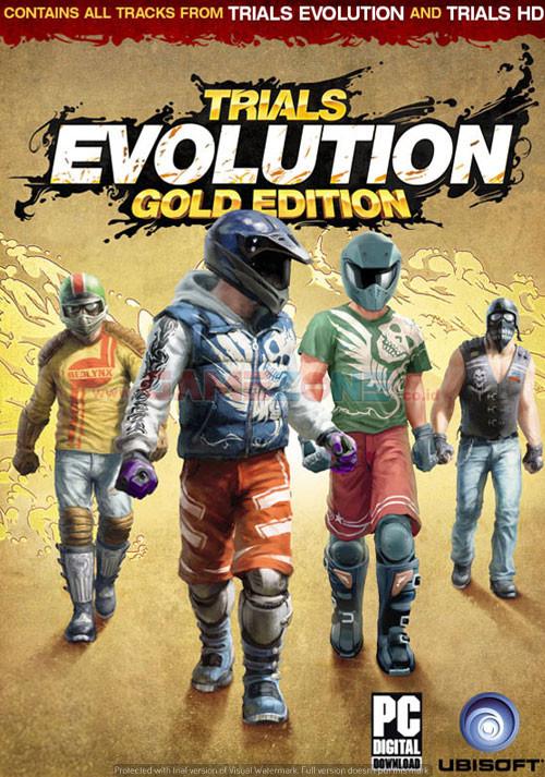 Trials Evolution : Gold Edition (DVD) - PC-0