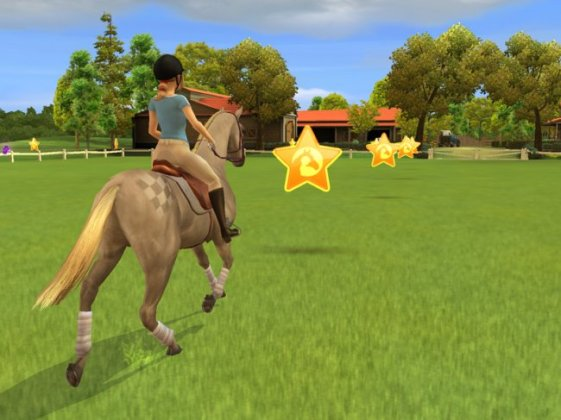 My Horse   Me  Riding For Gold   WII   Review   GameZone These are mostly riding games where the rider herds or directs animals or  objects  races another horse