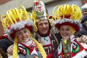 Karneval in Koln Germany