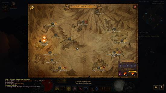reaper of souls map
