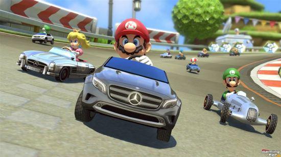 Mario Kart 8 Mercedes 3